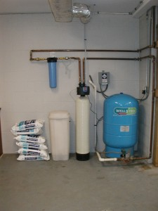 Well Water Treatment, Salt and Water Filter